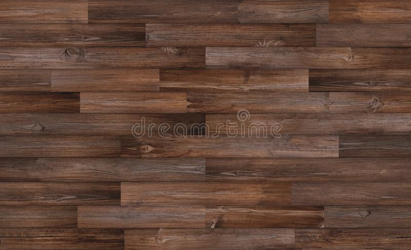 Mörk wood golvtexturbakgrund, sömlös wood textur royaltyfri bild