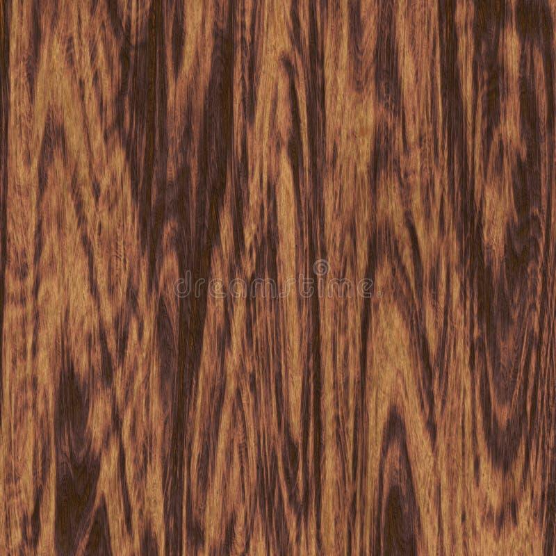 Mörk wood sömlös textur royaltyfri illustrationer