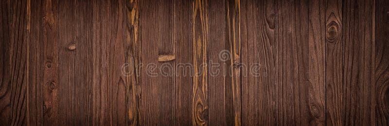 Mörk wood textur, tom bakgrund av trägolvet eller tabell royaltyfria foton