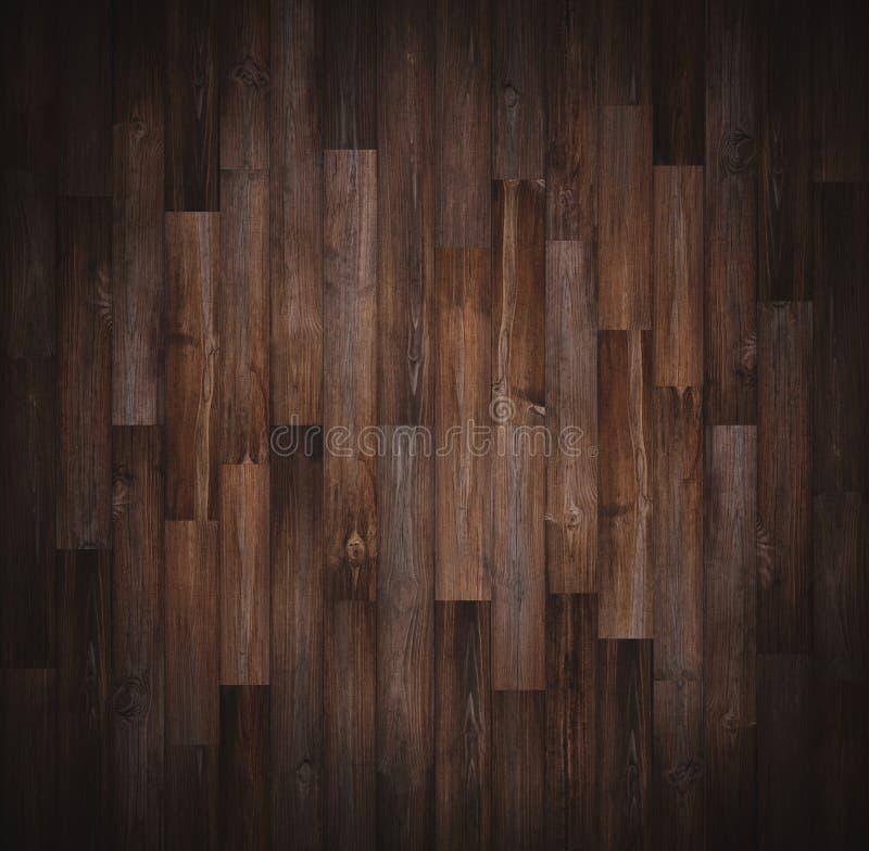 Mörk wood texturbakgrund, karaktärsteckninggräns arkivfoto