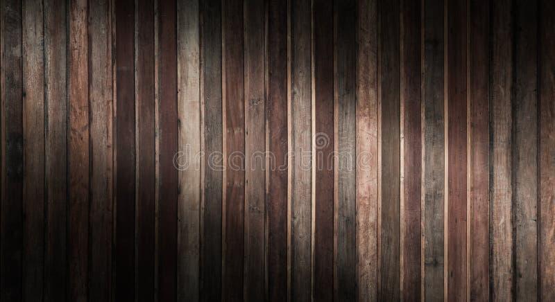 Mörk wood texturbakgrund med naturliga modeller, gammal trämodellvägg royaltyfria bilder