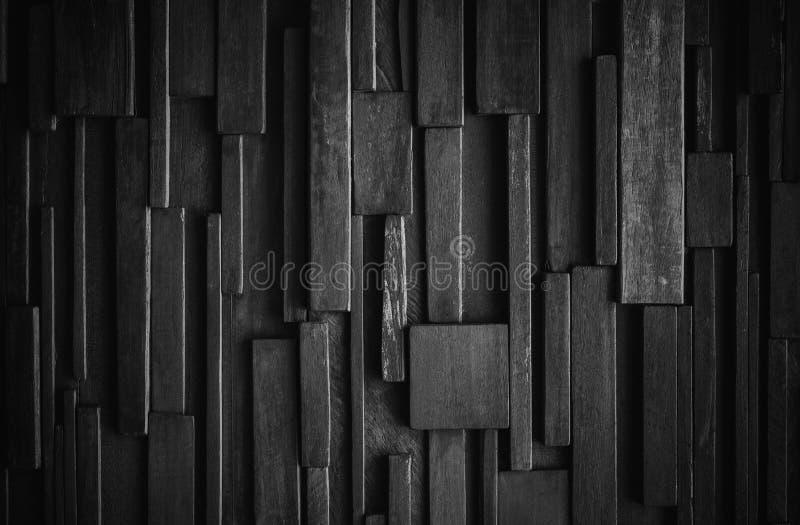 Mörk wood väggtextur, svart wood bakgrundskaraktärsteckninggräns arkivbilder