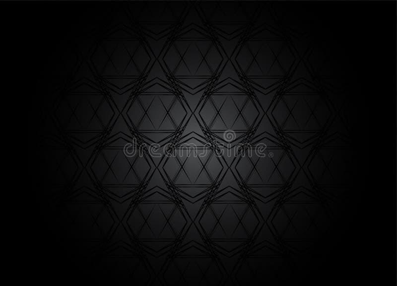 Mörka modellbakgrunder för design vektor illustrationer