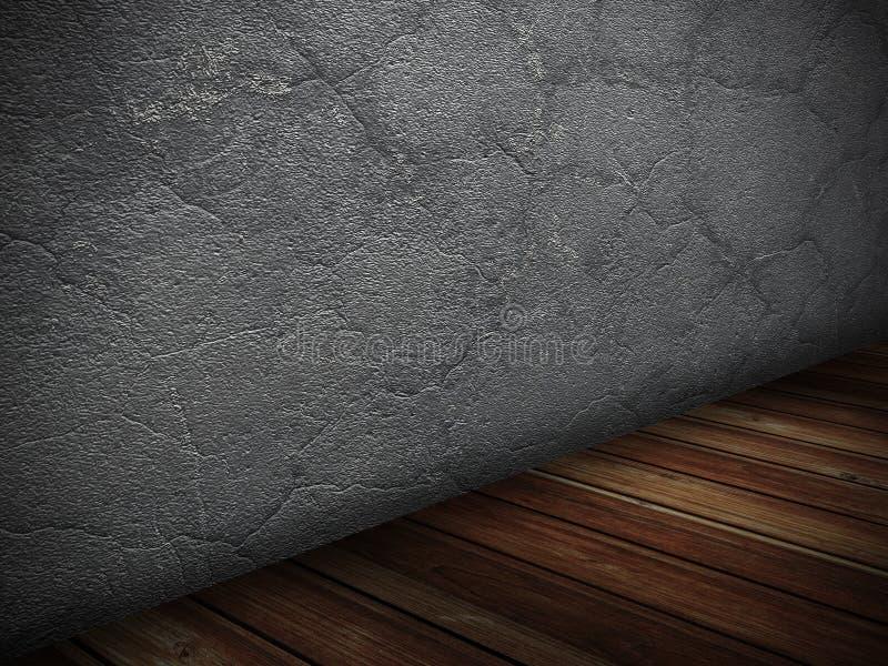 Download Mörka Träkonkreta Tömmer Rum Kan Användas Som En Vykort Stock Illustrationer - Illustration av retro, ungefärligt: 78729598