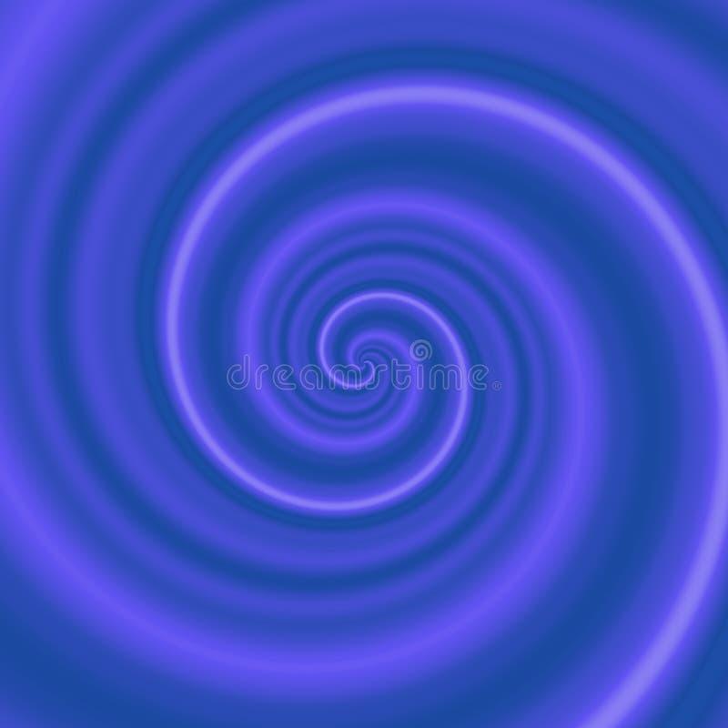 Mörker - blått - lilavirvel, virvel, bubbelpool vektor illustrationer
