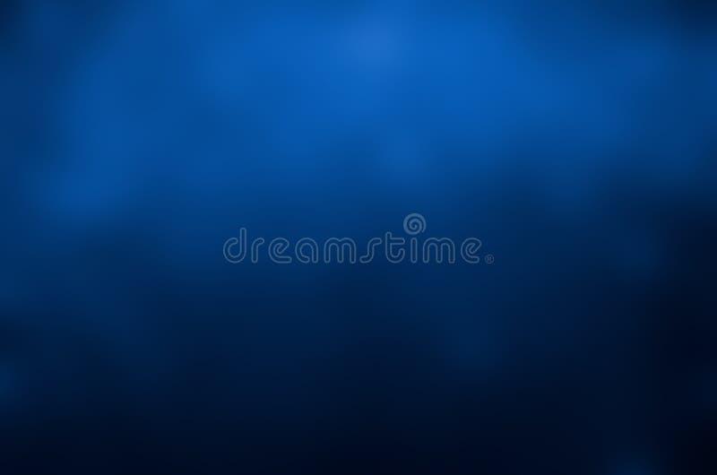 Mörker för design för bakgrund för suddighetsblåttabstrakt begrepp - blått ljus - blå belysning från hörnet arkivfoton