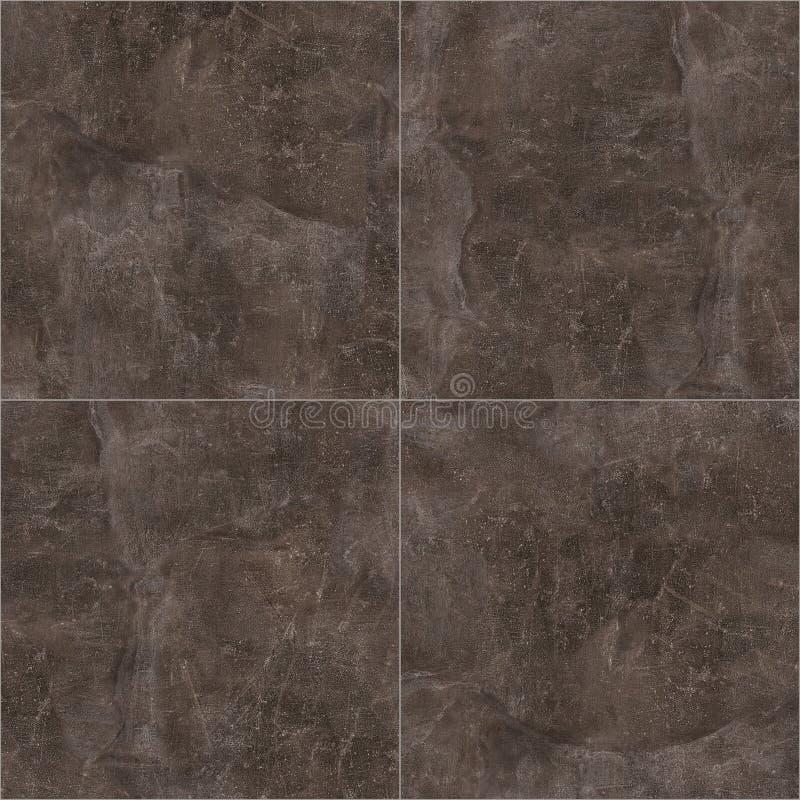 Mörker marmorerar golvtextur arkivfoto