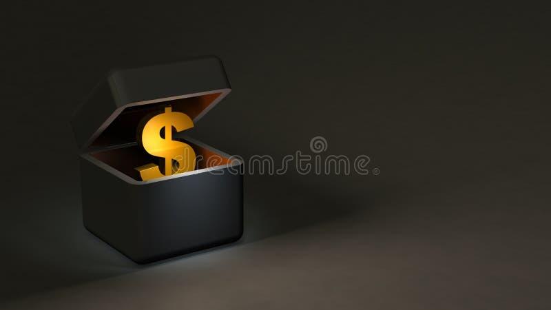 Mörkerfonder som ska lagras i den underjordiska ekonomin vektor illustrationer