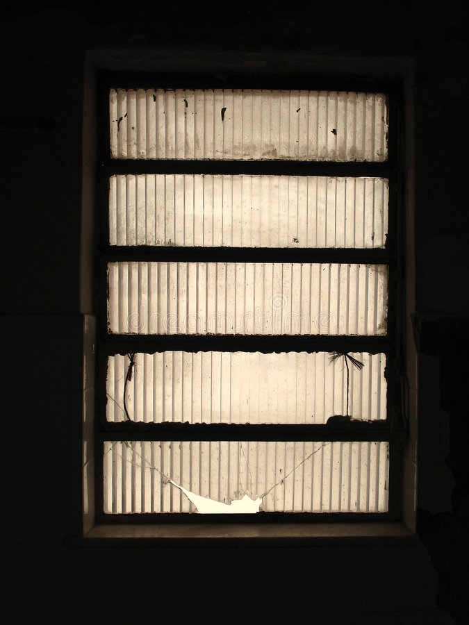mörkt fönster royaltyfri fotografi