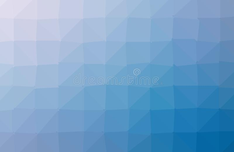 MÖRKT - för triangelbakgrund för blå vektor oskarp design Geometrisk bakgrund i origamistil med lutning stock illustrationer