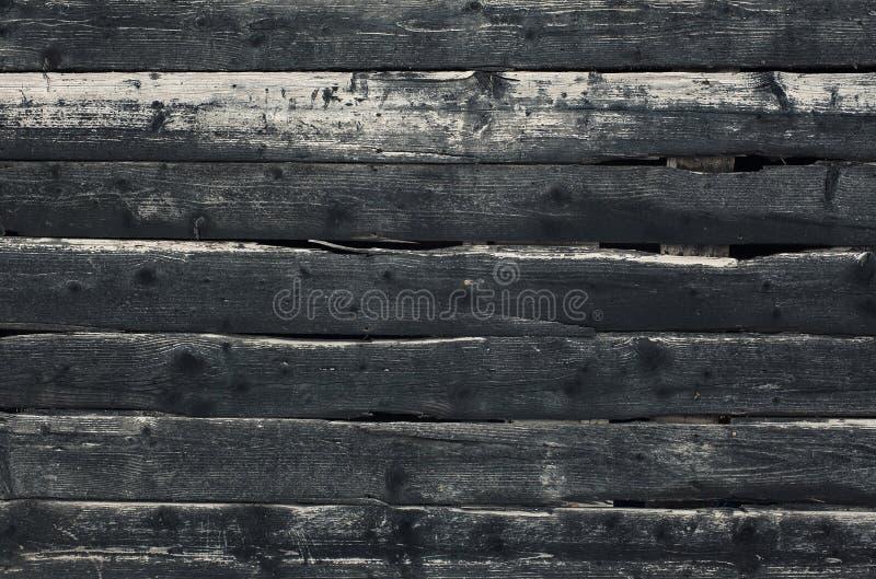 mörkt gammalt texturträ arkivfoto