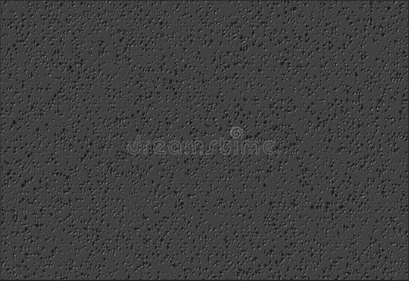 Mörkt grått gropigt diagram för vektor för kanfasabstrakt begreppbakgrund stock illustrationer