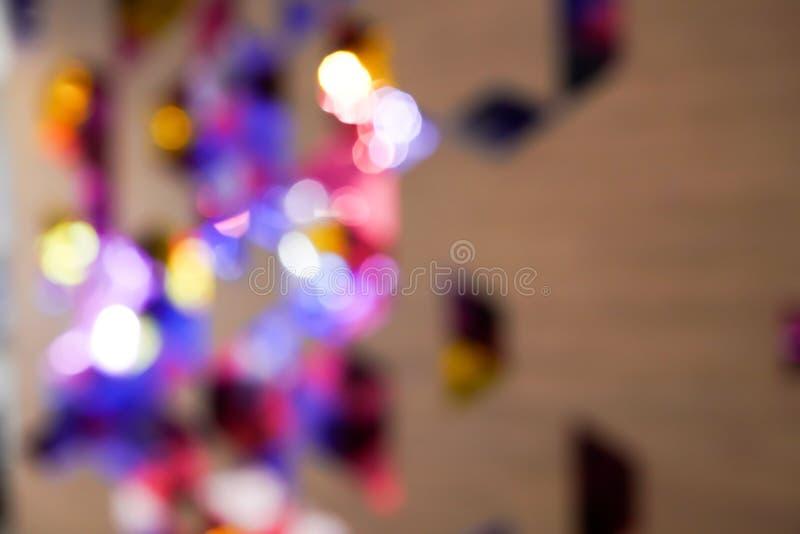 Mörkt purpurfärgat/violett färgtema med den oskarpa designen för någon bakgrund royaltyfria foton