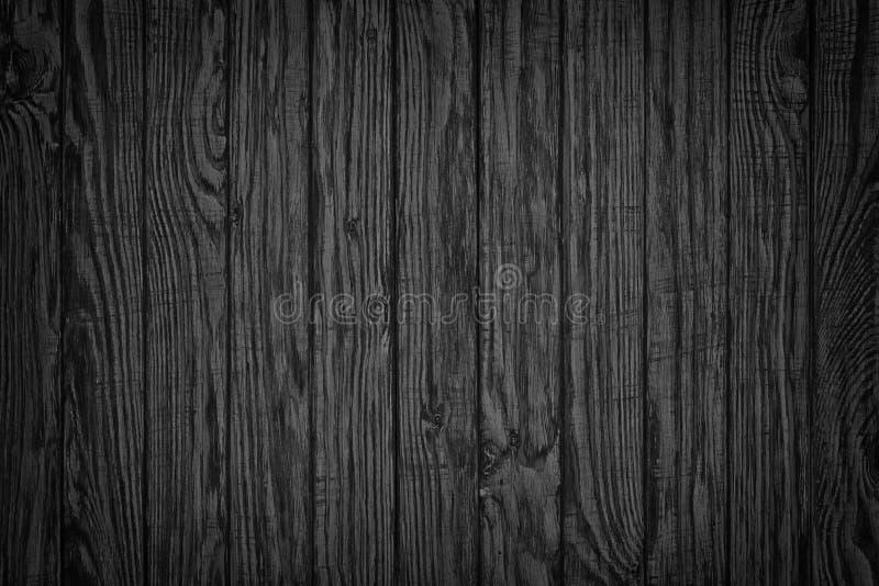 mörkt trä Bästa sikt för lantlig trätabellbakgrund royaltyfri fotografi