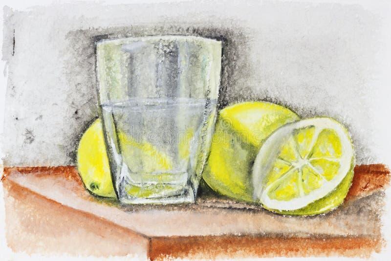 Mörkt ungefärligt lemonadebegrepp vektor illustrationer