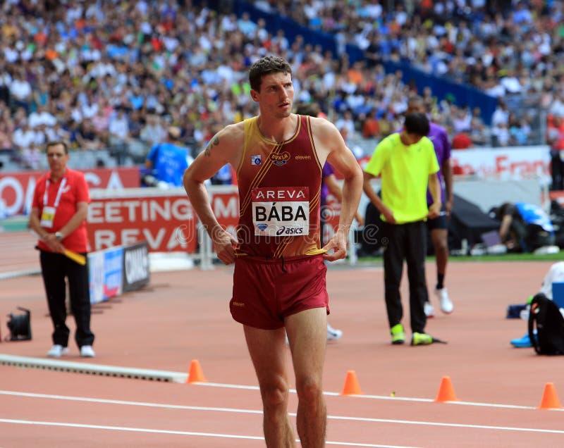 MÖTE AREVA, Paris IAAF Diamond League royaltyfri fotografi