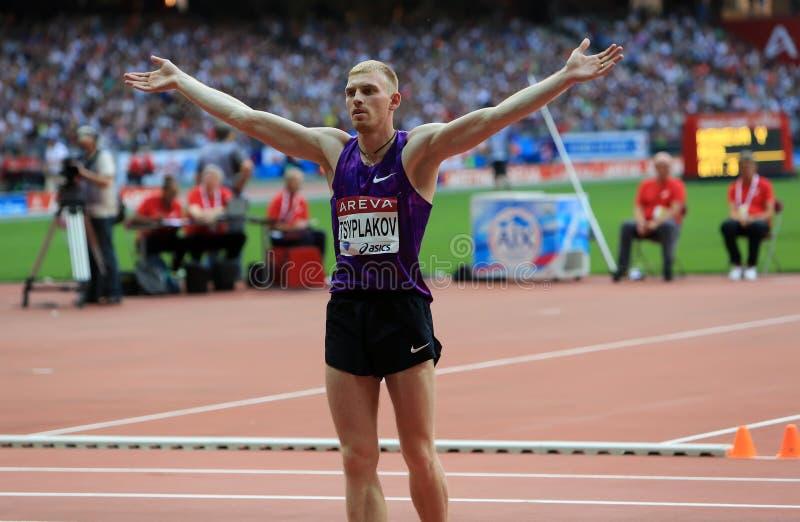 MÖTE AREVA, Paris IAAF Diamond League royaltyfri foto