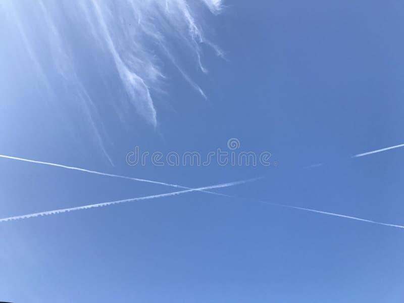 Möte upp i himlen arkivfoto