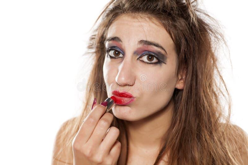 Mún maquillaje fotos de archivo