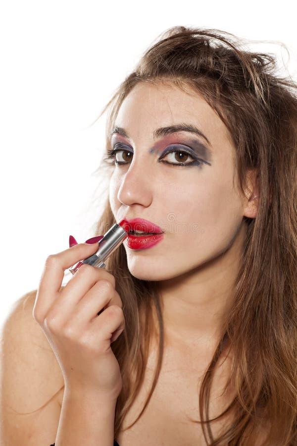 Mún maquillaje fotos de archivo libres de regalías