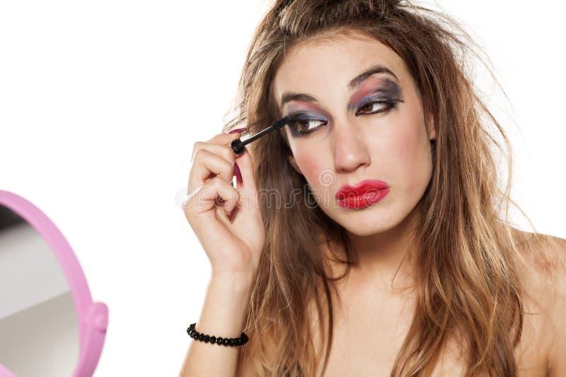 Mún maquillaje imagenes de archivo