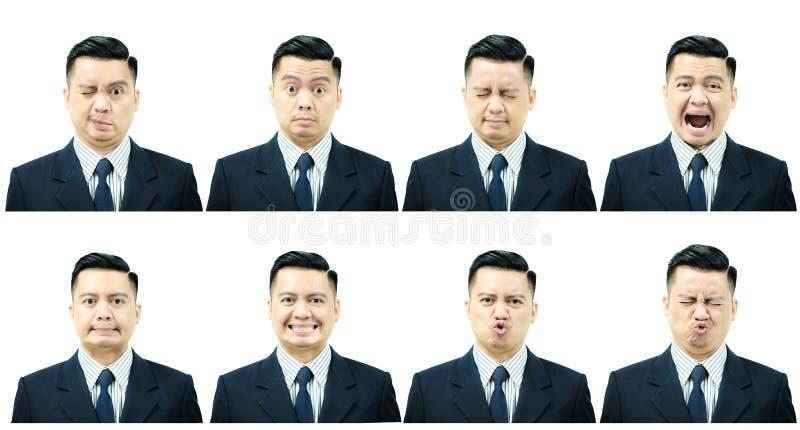 7 músculos faciales del ejercicio con parálisis del ` s de Bell fotos de archivo