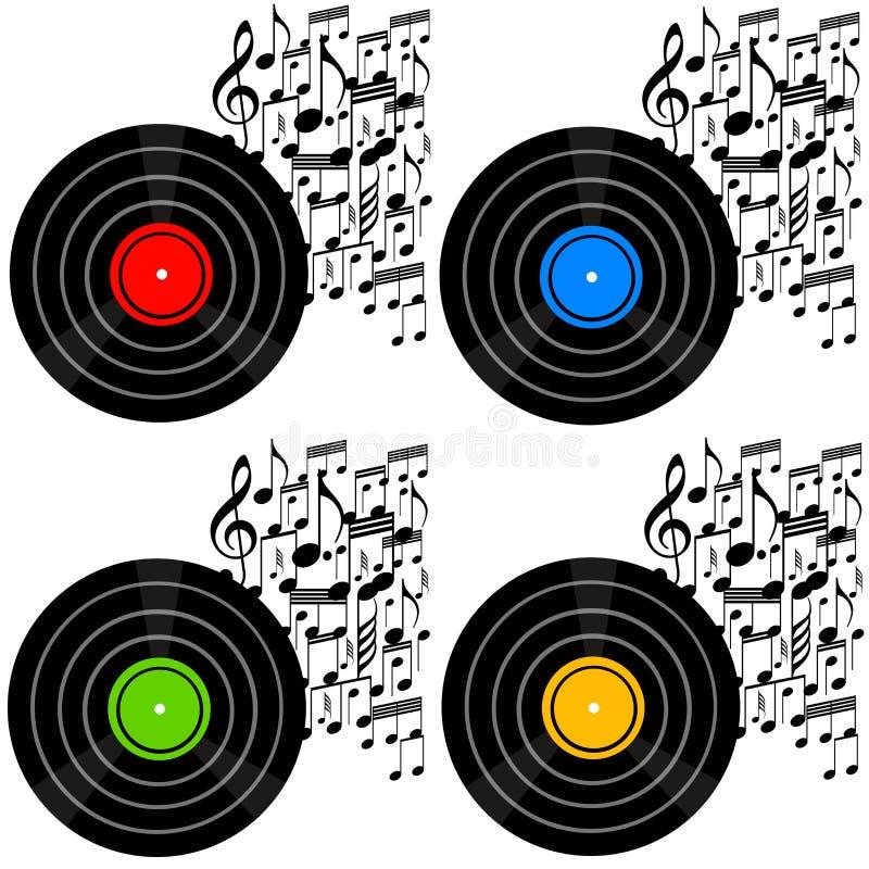 Música stock de ilustración