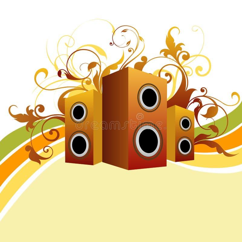 Música ilustración del vector