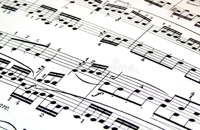 Música fotografia de stock