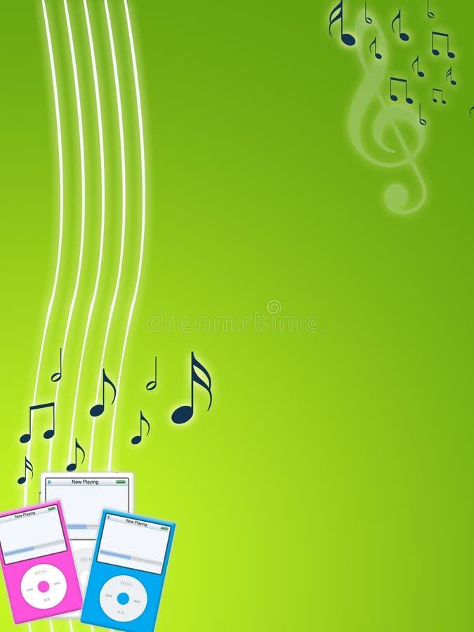 Música ilustração royalty free