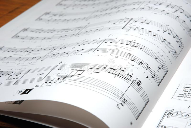 Música fotografía de archivo