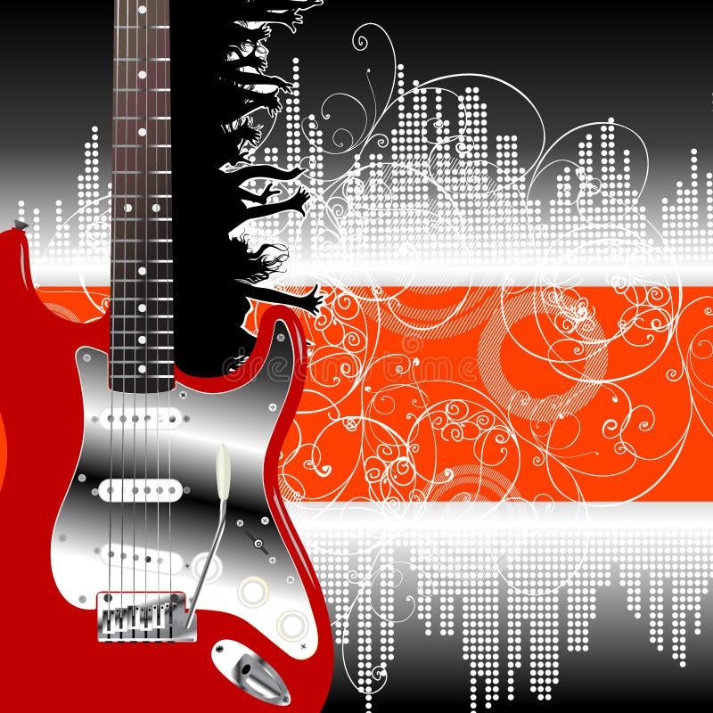 Música ilustração do vetor