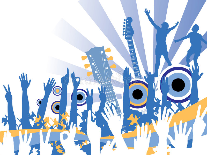 Música Celebration.jpg stock de ilustración