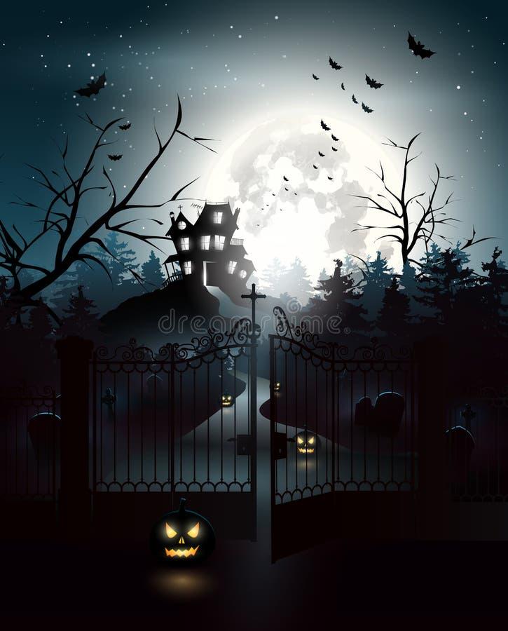 Música da noite ilustração royalty free