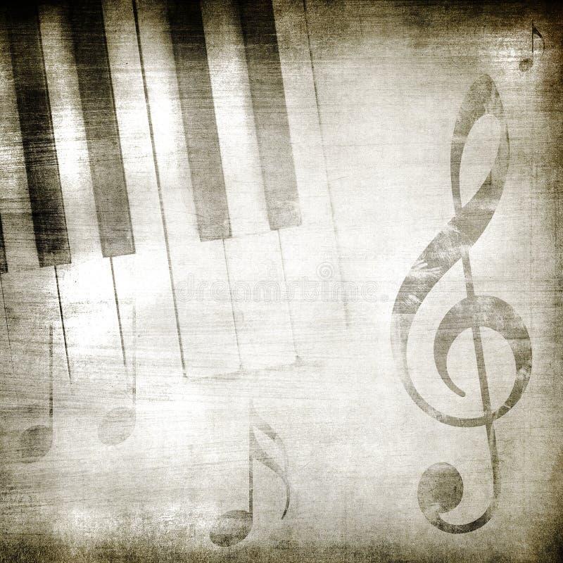 Música de Grunge ilustración del vector