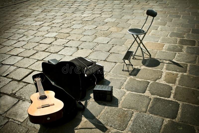 Música de la calle imagen de archivo