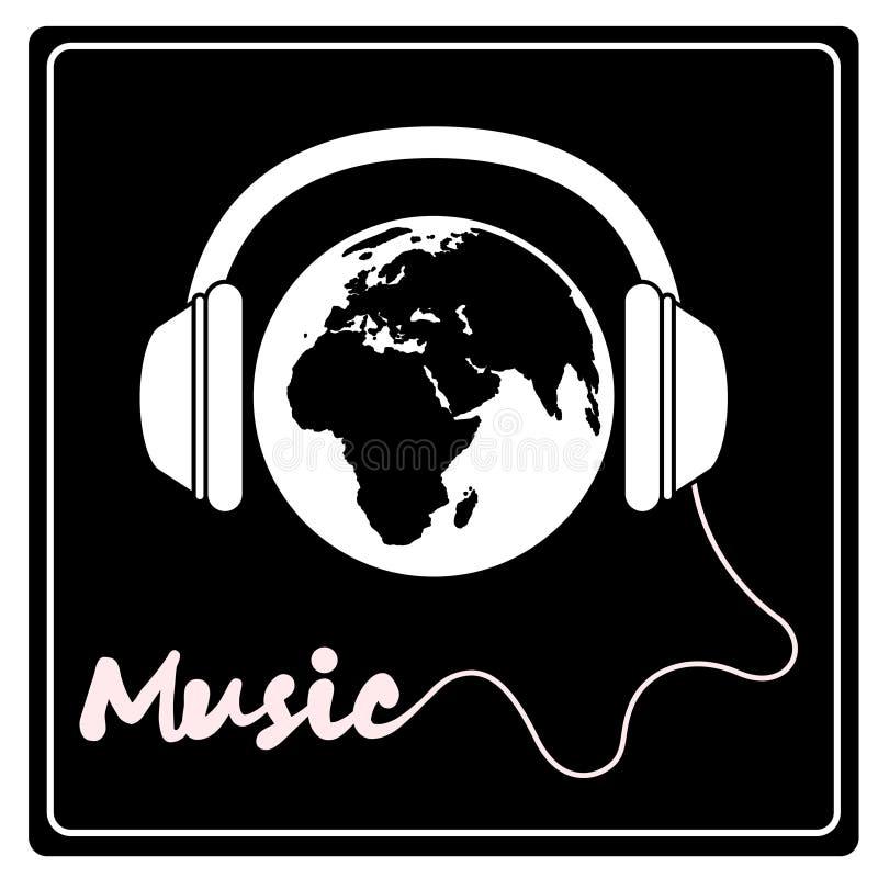 Música del mundo Vector ilustración del vector
