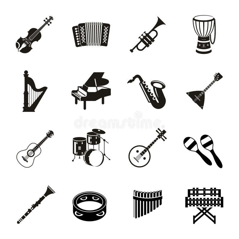 Música del negro del vector de Digitaces libre illustration