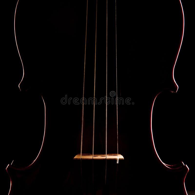 Música del violín imagen de archivo