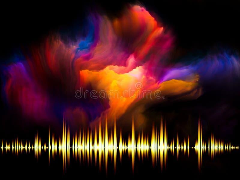 Música do Fractal imagens de stock royalty free