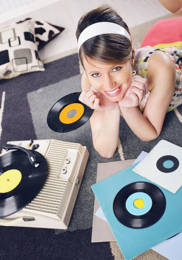 Música do vintage fotos de stock royalty free