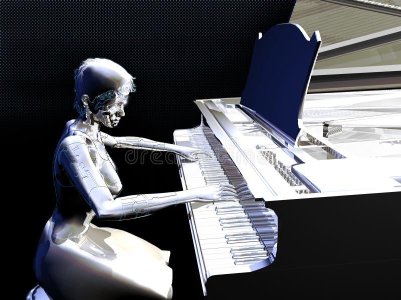 Música eletrônica ilustração do vetor