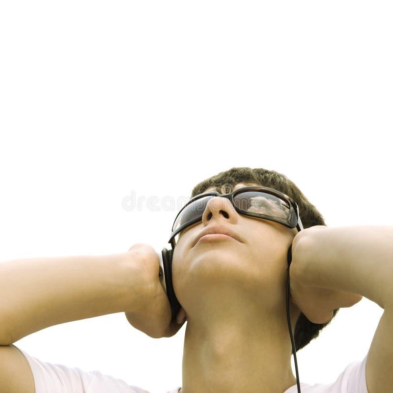 Música em minha mente fotos de stock royalty free