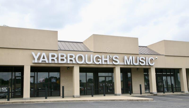 Música Memphis, TN de Yarbrough imagen de archivo