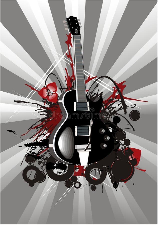 Música moderna ilustração royalty free