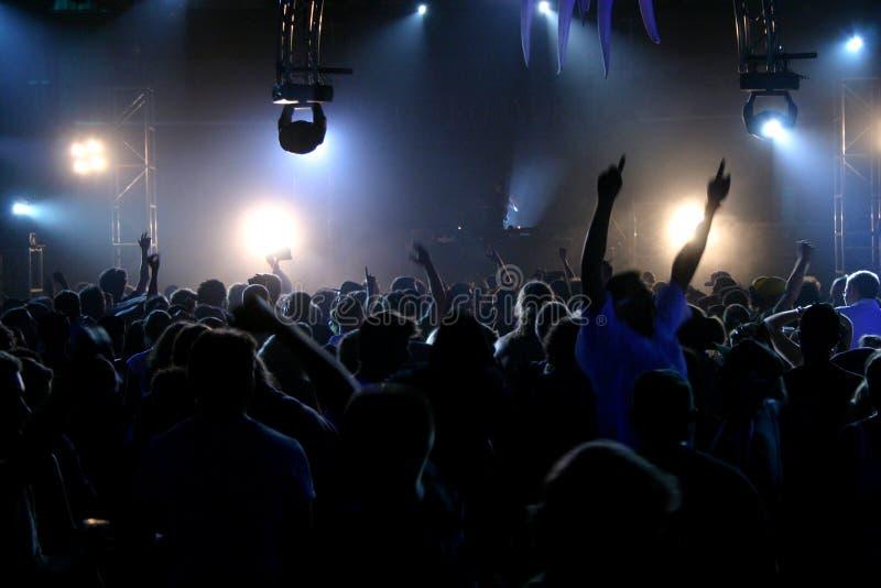Música a o vivo e povos foto de stock royalty free