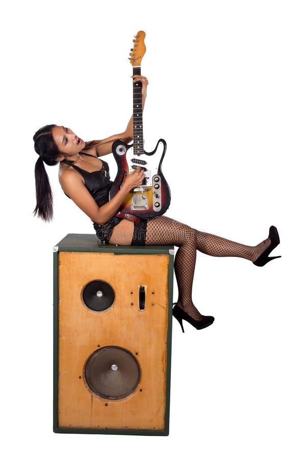 Música rock foto de archivo