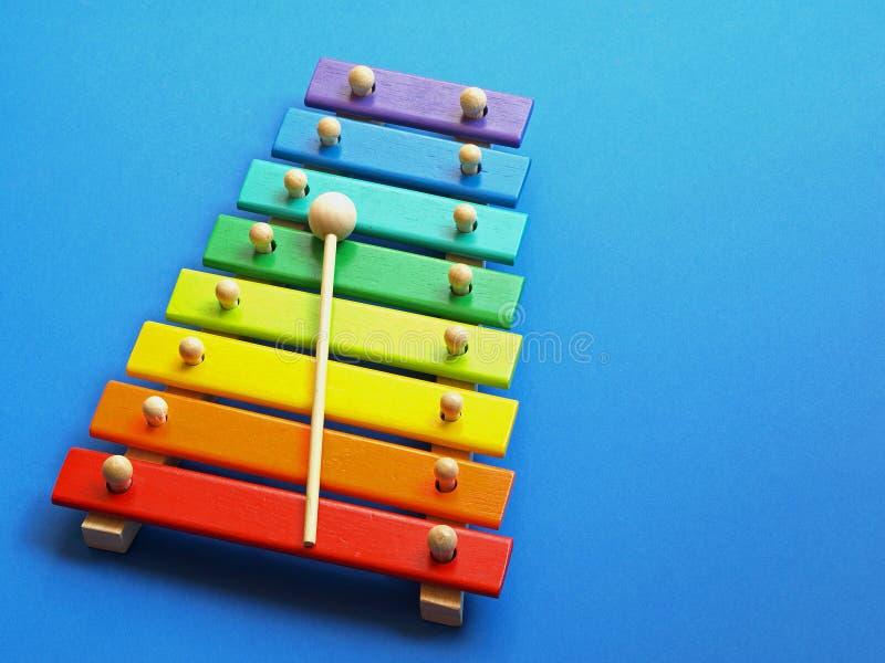 Música - xilófono fotografía de archivo libre de regalías
