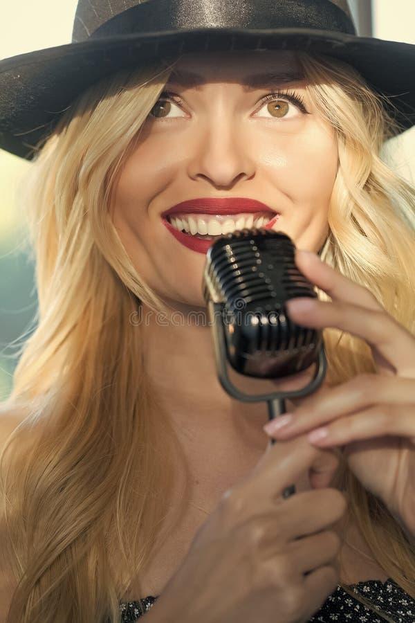 música y Karaoke foto de archivo libre de regalías