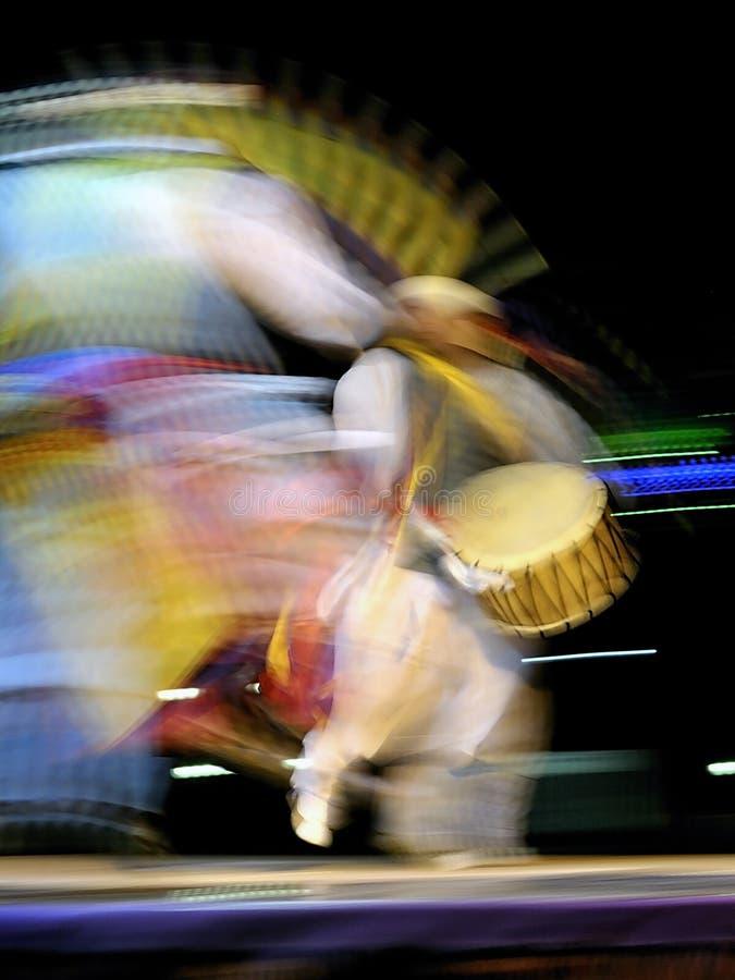 Músico corean del sur fotografía de archivo